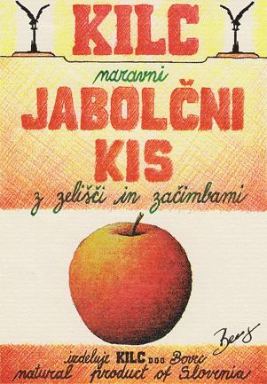 Apfelessig mit Kräutern und Gewürzen